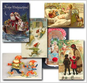 old european vintage christmas cards