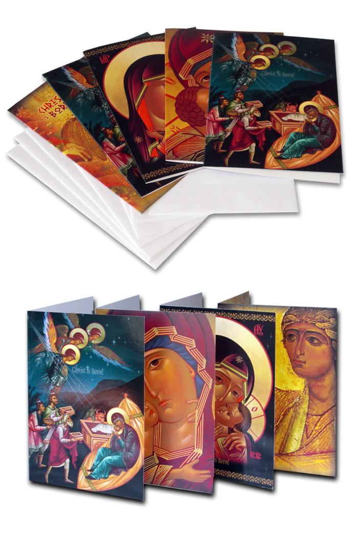orthodox christian christmas cards